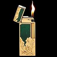 Hột Qụet Bật Lửa Gas Đá 16B02 Họa Tiết Sơn Mài Hoa Văn Đẹp Độc Lạ - Dùng Gas Đá Cao Cấp thumbnail