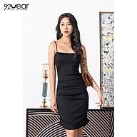 Đầm Váy Thun Nữ 92WEAR DTW0749 Thiết Kế 2 Dây Dáng Suông thumbnail