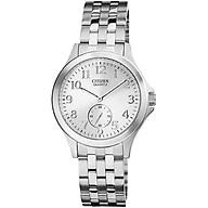 Đồng hồ Nữ Citizen dây kim loại pin kính cứng EQ9050-57A thumbnail