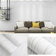 Cuộn 10M Giấy dán tường GDT42 - SỌC CÁCH ĐIỆU có sẵn keo rộng 45cm (tự thi công) dùng cho đủ loại bề mặt sơn, gỗ, kim loại với diện tích hoàn thiện đến 4m2 giúp không gian trở nên mới mẻ, sinh động thumbnail