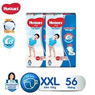 Combo 2 tã dán Huggies Diapers Super Jumbo XXL56 thumbnail