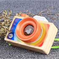 Đồ chơi máy ảnh bằng gỗ độc đáo cho bé - Máy ảnh có ống kính vạn hoa độc đáo thumbnail
