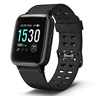 Letsfit Smart Watch, Fitness Tracker with Heart Rate Monitor, Activity Tracker with 1.3 Touch Screen, IP68 Waterproof Step Counter, Sleep Monitor, Pedometer Smartwatch for Women Men Kids thumbnail