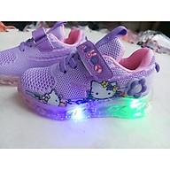 giày thể thao trẻ em hình mèo đế đèn phát sáng thumbnail