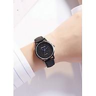 Đồng hồ nữ thời trang hàn quốc dây da PU cao cấp p16 thumbnail