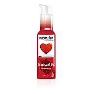 Gel bôi trơn cao cấp Masculan hương dâu sản xuất và nhập khẩu từ Đức dành cho nam và nữ (75ml) thumbnail