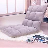 Ghế Ngồi Bệt Tatami, Ghế Bệt Tựa Lưng Phong cách Nhật Bản - Xám thumbnail