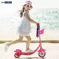 Xe trượt scooter 3 bánh có giỏ đựng đồ BBT Global KM066 thumbnail