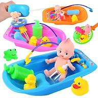 Bộ đồ chơi tắm cho búp bê dành cho bé gái - Tặng 01 khuôn ép cơm thumbnail