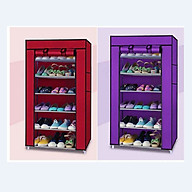 Tủ Vải Đựng Giày Dép 6 Tầng Tiện Dụng thumbnail