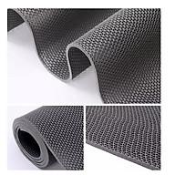 Thảm nhựa lưới chống trơn trượt màu xám cho nhà cửa, nhà tắm, văn phòng, hồ bơi, khách sạn khổ rộng 1m2 bảo vệ sự an toàn cho gia đình thumbnail