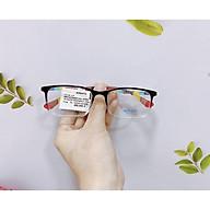 Gọng kính mắt chữ nhật nam nữ SONATA chính hãng chất liệu nhựa dẻo thanh mảnh siêu bền R531 thumbnail