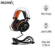 Tai nghe chụp tai Gaming MozardX G1 Đen - Hàng Chính Hãng thumbnail