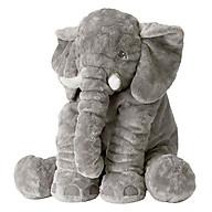 Gối ôm, thú bông hình voi cho bé thumbnail