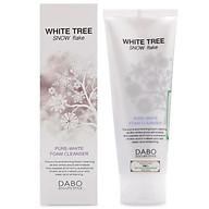 Sữa rửa mặt trắng da sạch nhờn cây tuyết trắng Dabo Hàn Quốc ( 150ml)- Hàn chính hãng thumbnail