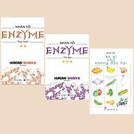 Combo Sách Chăm Sóc Sức Khỏe Nhân Tố Enzyme - Trẻ Hóa (Tái Bản) + Nhân Tố Enzyme - Thực Hành (Tái Bản) + Ăn Gì Cho Không Độc Hại (Sách Sống Khỏe) thumbnail