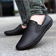 Giày lười da nam đẹp da bò thật chính hãng UDANY GLN06 - Giày mọi nam đẹp xu hướng thời trang đơn giản trang nhã lịch sự tiện lợi thumbnail
