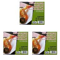Combo 3 set 40 giấy thấm dầu mỡ đồ chiên rán nội địa Nhật Bản thumbnail