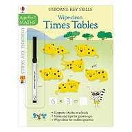 Usborne Usborne Key Skills Wipe-clean Times Tables 6-7 thumbnail