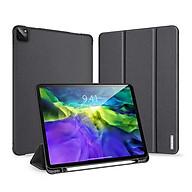 Bao da chống sốc kèm khay đựng bút cho Apple iPad Pro 11 inch 2020 thương hiệu DUX DUCIS Domo Series cao cấp - Hàng nhập khẩu. thumbnail