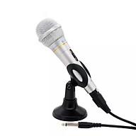 Mic hat karaoke mini có dây dài jack 6.5 tiện lợi thumbnail