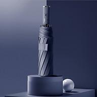 Ô (dù) tự động 2 chiều cao cấp DandiHome chống UV - Xanh than - Thường thumbnail