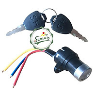 Khóa xe điện - Khóa xe đạp điện 3 dây SH thumbnail