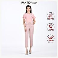 Quần dài nữ chất liệu tuýt-si, dáng ống đứng FQD9848 - PANTIO thumbnail