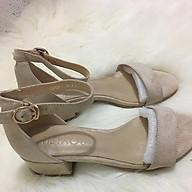 Sandal Nữ 3cm Da Lộn Trơn thumbnail