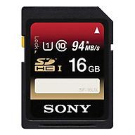 Thẻ Nhớ Sony 16GB U1 (Class 10) 94-45 Mb s - Hàng Chính Hãng thumbnail