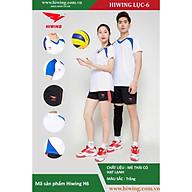 Bộ quần áo Bóng Chuyền cao cấp thương hiệu Hiwing H6 màu trắng thumbnail