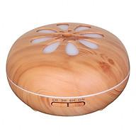 Máy khuếch tán tinh dầu siêu âm tạo ẩm cánh hoa 550ml - máy xông tinh dầu phun sương Aramacs thumbnail