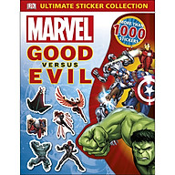 Marvel Good Versus Evil Ultimate Sticker Collection (More Than 1,000 Stickers) thumbnail