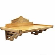 Bàn Thờ treo gỗ sồi phun mầu gỗ sồi Tự nhiên ( tặng tấm ám khói ) thumbnail