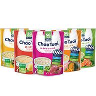 Lốc 5 - Cháo Tươi Baby Sài Gòn Food 240g, Gà, Thịt Bằm, Bò, Tôm, Lươn thumbnail