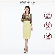 Chân váy dài chất liệu demin dáng ôm thiết kế túi lệch FJD5782 - PANTIO thumbnail