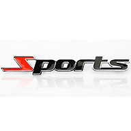 Decal logo SPORT thể thao dán xe hơi xe máy thumbnail