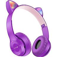 Tai Nghe Mèo Bluetooth Chụp Tai, Có Đèn LED Headphone - Tai Mèo Bluetooth Không Dây Dễ Thương Có Mic Hỗ Trợ Điều Chỉnh Âm Lượng - Tai Nghe Bluetooth Không Dây Chụp Tai - HP000028 thumbnail