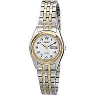 Seiko Women s SUT116 Stainless Steel Two-Tone Watch thumbnail