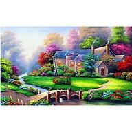 TRANH THÊU CHỮ THẬP 3DGIA ĐÌNH HẠNH PHÚC 59x49cm thumbnail