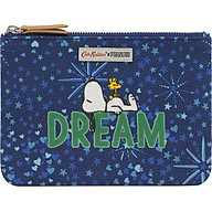Ví 1 ngăn Cath Kidston họa tiết Snoopy Dream Midnight Stars (Snoopy Dream Midnight Stars Cotton Pouch with Placement) thumbnail