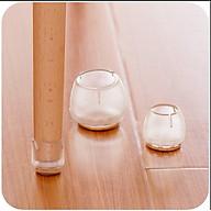Bọc chân bàn ghế silicone chống trượt, chống trầy sàn nhà tiện dụng ( giá 1 cái ) thumbnail