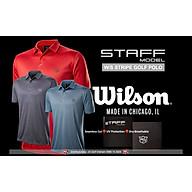 Áo golf Wilson Staff Men Model Stripe Polo Shirt thumbnail