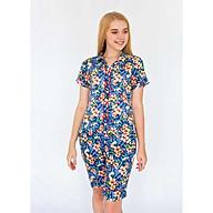 Đồ mặc nhà Bộ nữ quần lửng tay ngắn Tvm Luxury Homewear B534 thumbnail