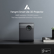 Xiaomi Youpin Fengmi Smart Lite LED Projector 1080P 550ANSI Lumens AI BT Voice Remote Control Life Home Theater Video thumbnail