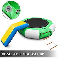 Trampoline slide water phao nhún trampoline trượt phao siêu hấp dẫn vui chơi nhiều hơn thumbnail