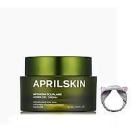 Kem Ngải Cứu Dưỡng ẩm, phục hồi da Aprilskin Artemisia Squalane Hydra Gel Cream 50g + Tặng Kèm 1 Băng Đô Tai Mèo (Màu Ngẫu Nhiên) thumbnail