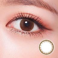 Kính áp tròng Hàn Quốc Clalen Iris dùng 1 ngày màu Soul Brown thumbnail