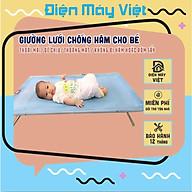 Giường lưới cho bé yêu chống hăm lưng, giường nằm cho bé mùa hè thumbnail
