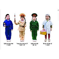 Áo công an, bộ đội, bác sĩ cho trẻ mầm non thumbnail